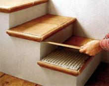 Плитка для лестниц фото