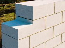 Разновидности блоков из ячеистого бетона.