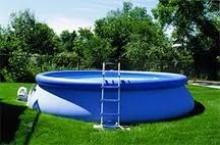 уход за надувным бассейном на даче